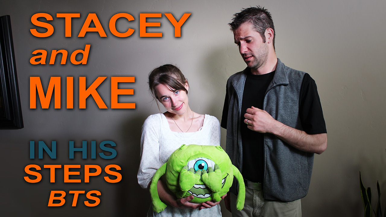 Stacey and Mike - Behind the Scenes In His Steps the Movie 2015